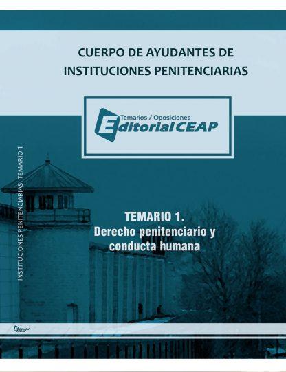 Temario 1 – Derecho Penitenciario (20 Temas) + Conducta Humana (3 temas)