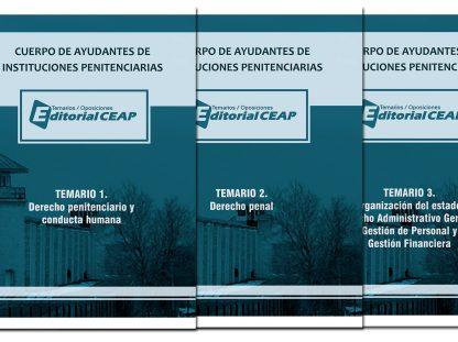 TEMARIO COMPLETO – Ayudantes de Instituciones Penitenciarias