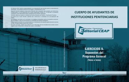 EJERCICIOS COMPLETOS – Ayudantes de Instituciones Penitenciarias (9 volúmenes)