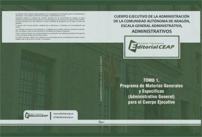 Administrativos DGA – Temario – 2 tomos