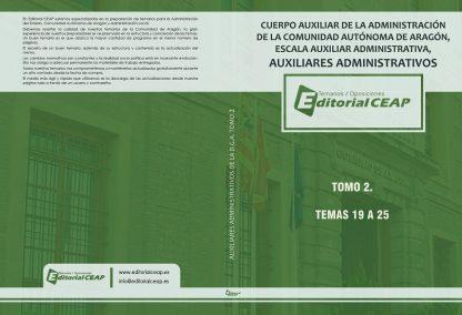 Auxiliares Administrativos DGA – Temario – 2 tomos